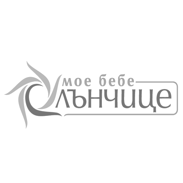 Спален комплект от седем части Мече с балони 60/120 - Бежов + Зелен