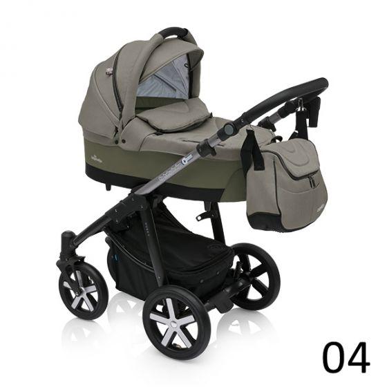 Бебешка количка 2в1 HUSKY - BABY DESIGN 2018