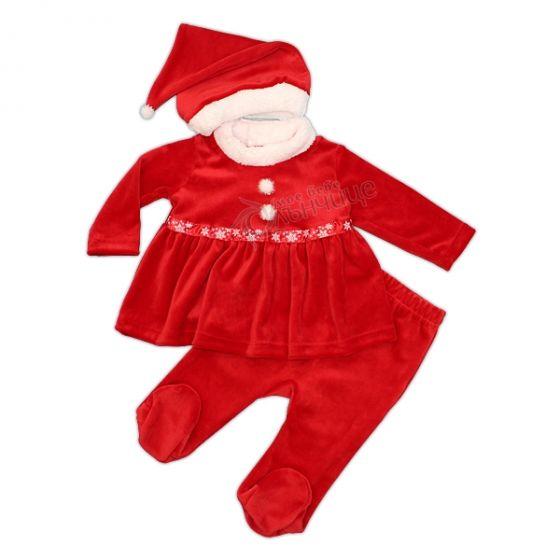 Коледен комплект с рокля Северно Еленче