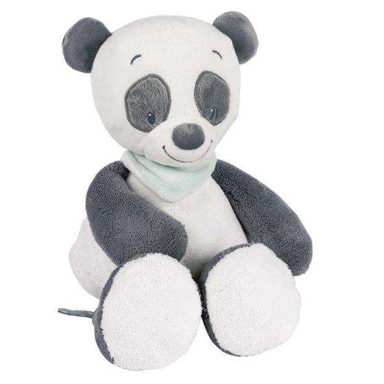 Плюшена играчка Панда Loulou - Nattou