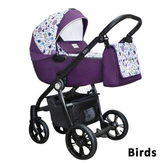 Промоционален сет Бебешка количка ESSO + стол за кола - кошница KITE ESSO
