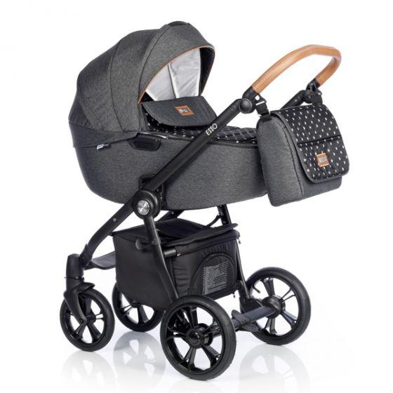 Бебешка количка 2в1 ESSO BLACK STAR - ROAN 2018