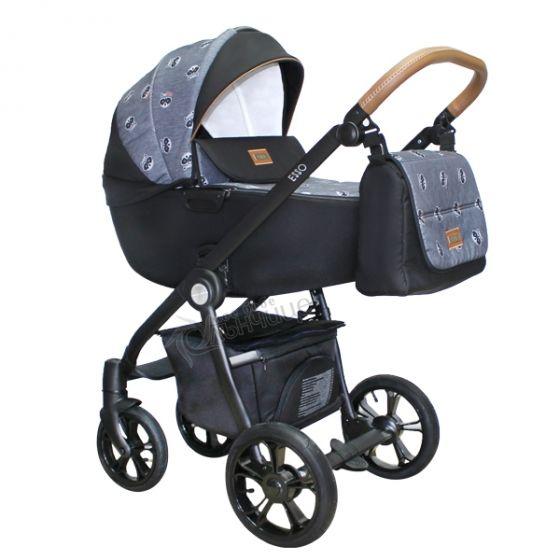 Бебешка количка 2в1 ESSO RACCOON - ROAN