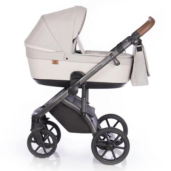 Бебешка количка 2в1 BLOOM IVORY - ROAN- кош за новородено