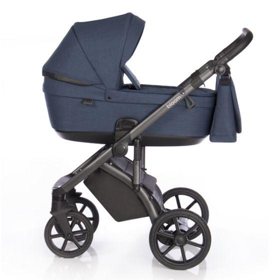 Бебешка количка 2в1 BLOOM MIDNIGHT - ROAN 2020 - синя