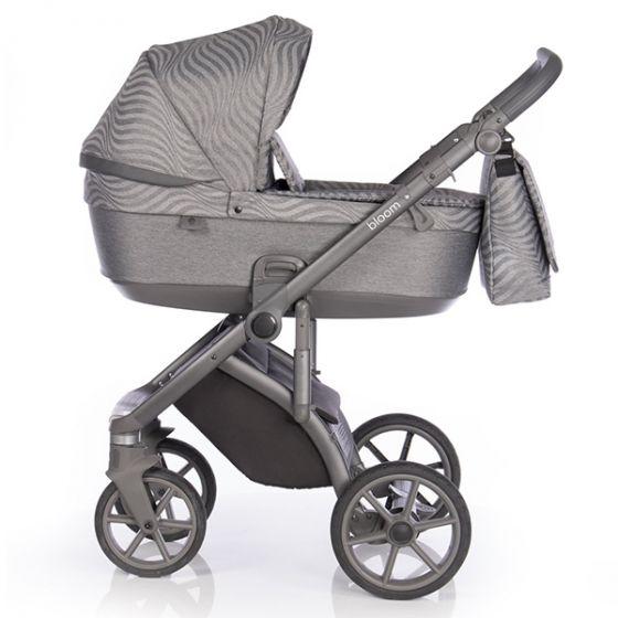 Бебешка количка 2в1 BLOOM STEEL - ROAN 2020