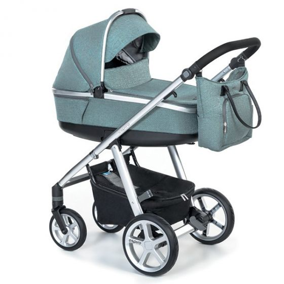 Бебешка количка 2в1 NEXT MELANGE - ESPIRO - 05 тюркоазена