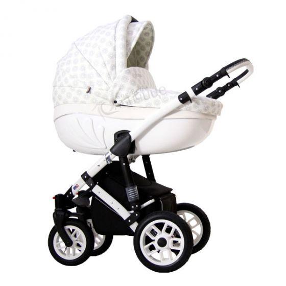 Бебешка количка 2в1 AVENIR ECO ROMANTIC - RETRUS