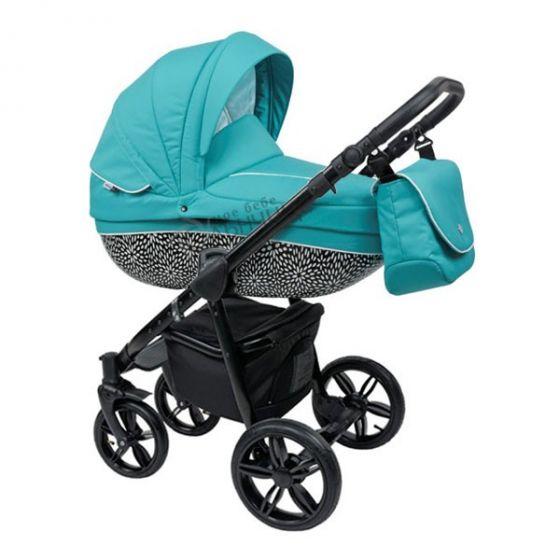 Бебешка количка 2в1 BASS MINT/BLACK - ROAN