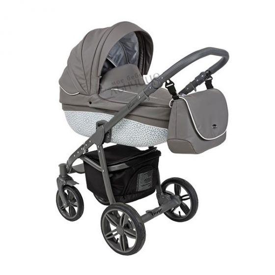 Бебешка количка 2в1 BASS MOUNTAIN ECO/GREY - ROAN