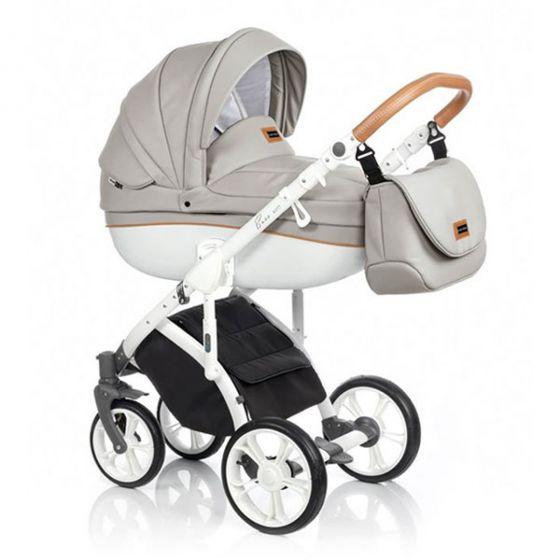 Бебешка количка 2в1 BASS SOFT ECO ISLAND STONE - ROAN