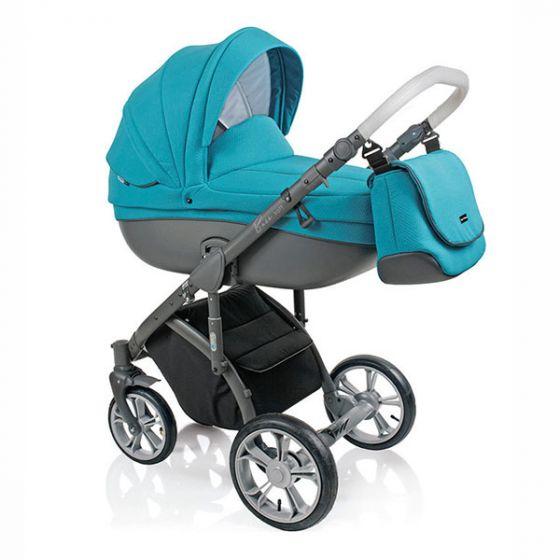 Бебешка количка 2в1 BASS SOFT LAGOON - ROAN