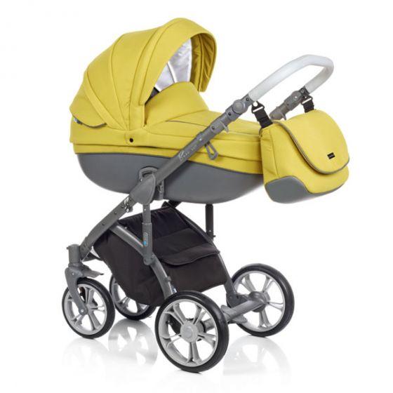 Бебешка количка 2в1 BASS SOFT PEAR - ROAN