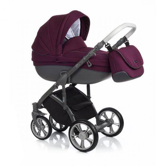 Бебешка количка 2в1 BASS SOFT PLUM - ROAN