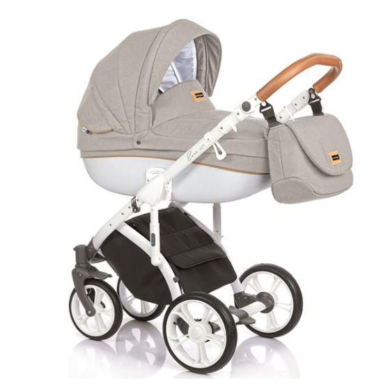 Бебешка количка 2в1 BASS SOFT SAND COGNAC - ROAN