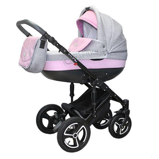 Бебешка количка JUMP SOFT PINK - NIO