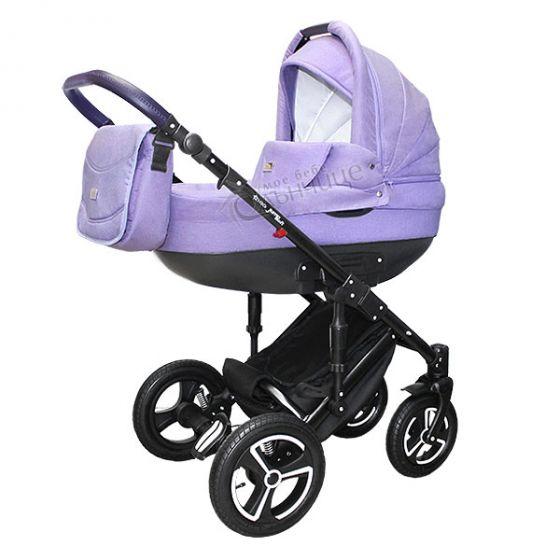Бебешка количка JUMP SOFT VIOLET - NIO