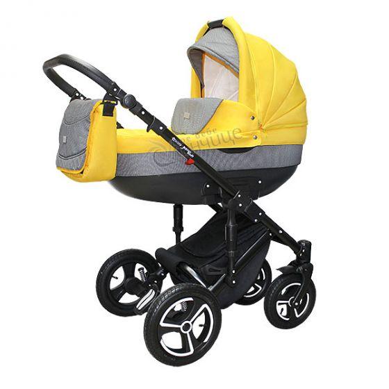 Бебешка количка JUMP SOFT YELLOW - NIO