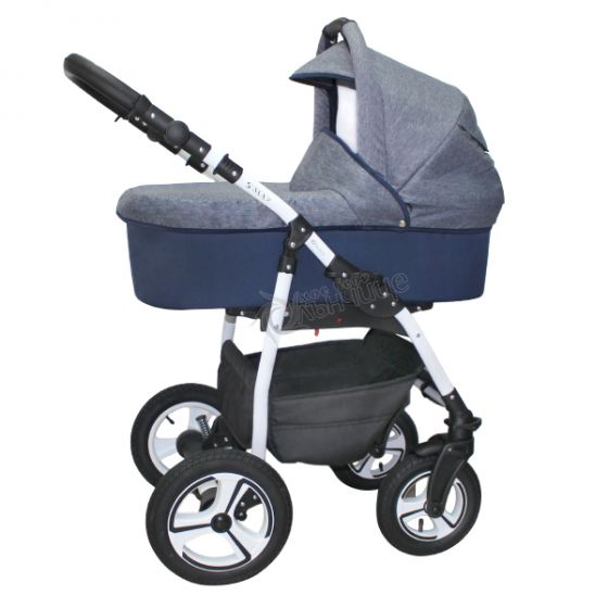 Бебешка количка S-MAX DENIM - NIO