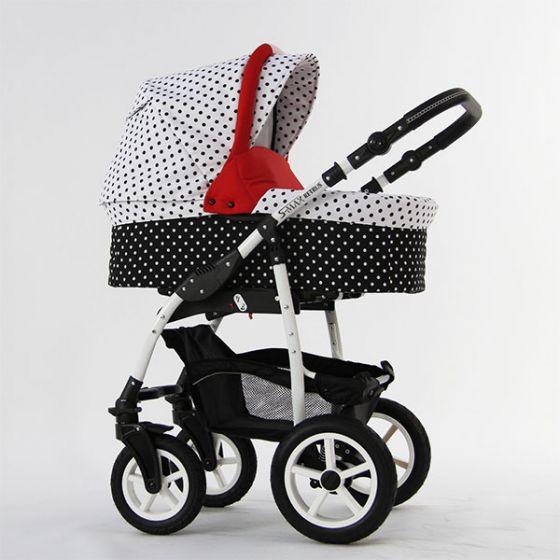Бебешка количка S-MAX DOTS - RETRUS