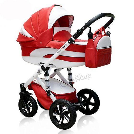 Бебешка количка VOGUE ECO RUBY RED - NIO