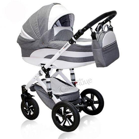 Бебешка количка VOGUE MOONSTONE - NIO - сива