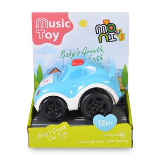 Бебешка музикална кола Blue
