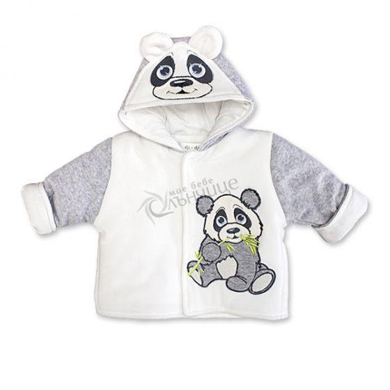 Бебешко яке Pandoo - Сив