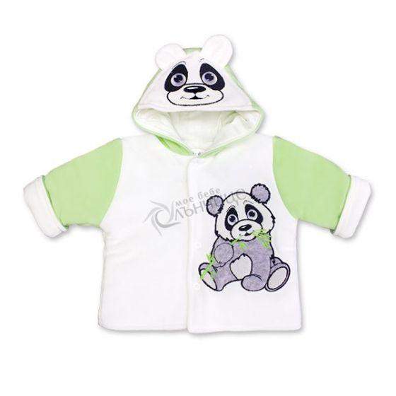 Бебешко яке Pandoo - Зелен