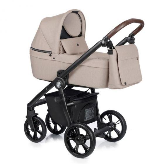 Бебешка количка 2в1 COSS BEIGE - ROAN 2019