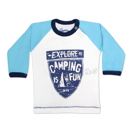 Блуза с дълъг ръкав - Camping