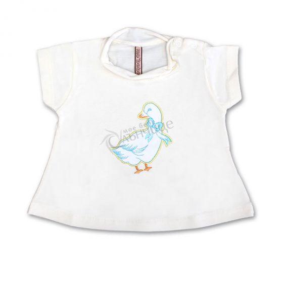 Блузка къс ръкав - Duck
