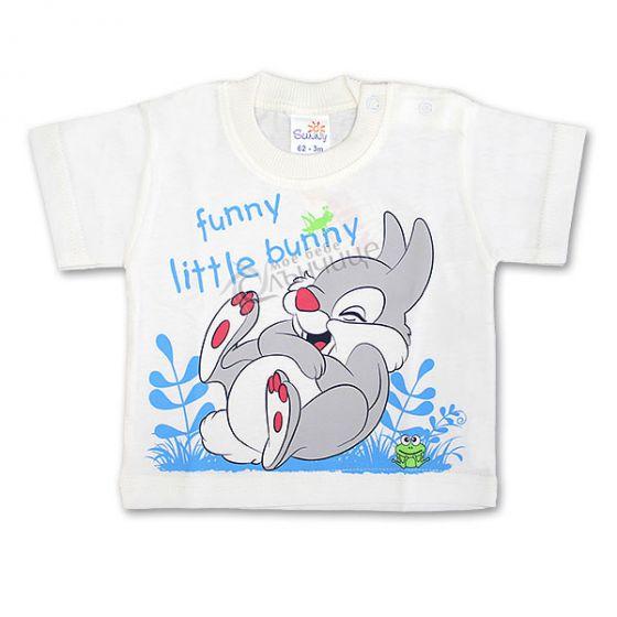 Блуза къс ръкав - Happy Bunny