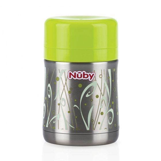 Термос с контейнер за храна и лъжичка - Nuby