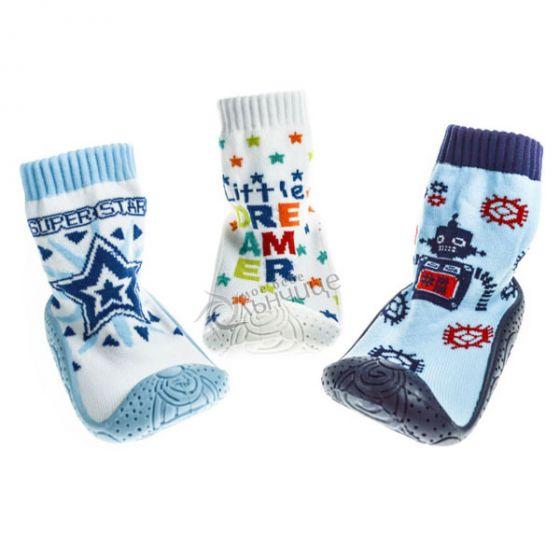 Чорапи със силиконова подметка - Boy