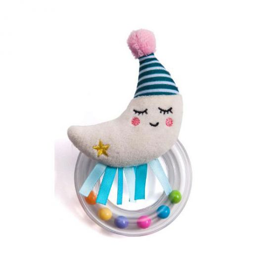 Дрънкалка Mini Moon - Taf Toys 0м+