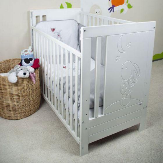 Дървено легло - LUNA 60/120см