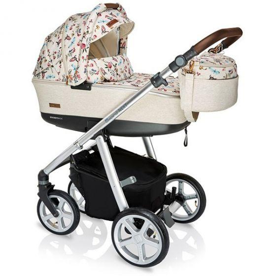 Бебешка количка 2в1 NEXT LIMITED EDITION BIRDY BEIGE - ESPIRO 2019