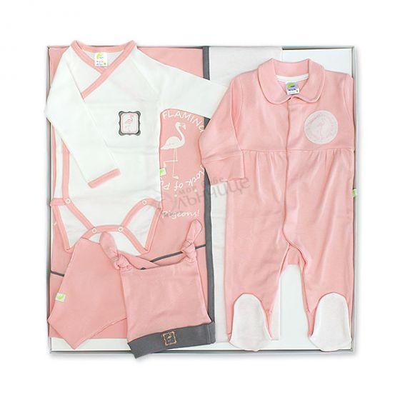 Комплект за изписване Flamingo - Розова Перла