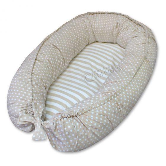 Гнездо за бебе - Dots & Stripes