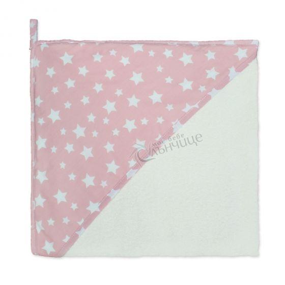Бебешка хавлия - Starry Dreams Pink