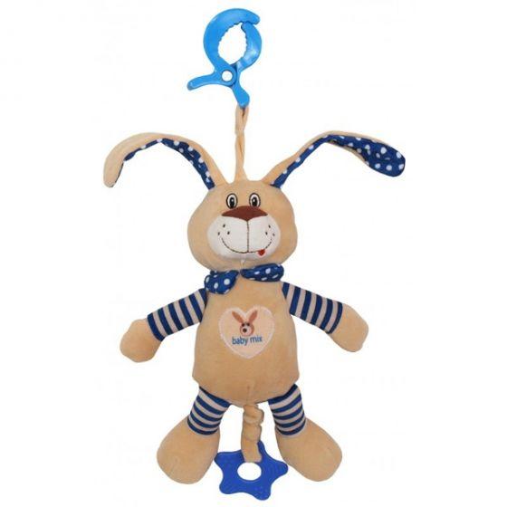 Плюшена музикална играчка Bunny Boy - BABY MIX