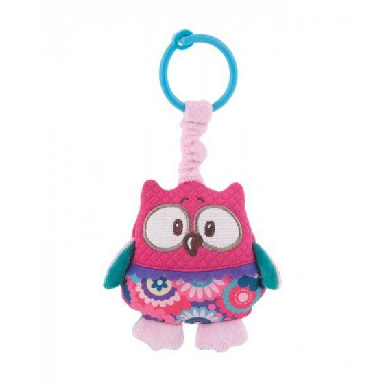 Играчка с дрънкалка Owl - Canpol