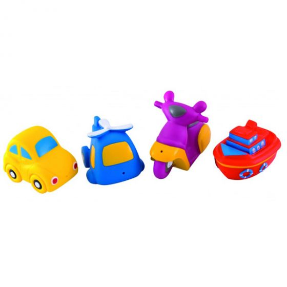 Играчки за баня Happy Vehicles- CANPOL