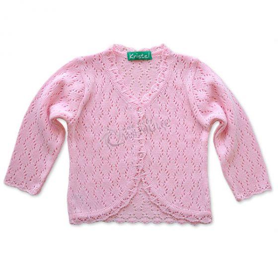 Плетена жилетка Sweet Lady Pink