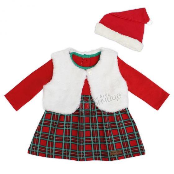 Коледна рокля с елече - Christmas Lady