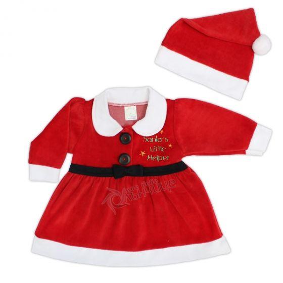 Коледна рокля - Santa's Little Helper