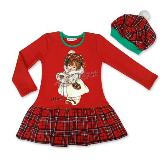 Коледна рокля - Мис Коледа