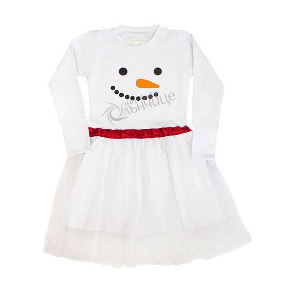 Коледна рокля - Снежна кралица