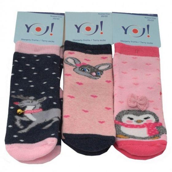 Коледни чорапи - Winter Friends Pink